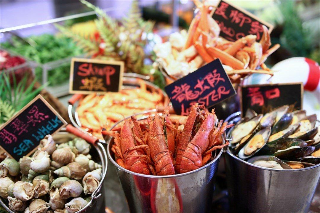 馬可孛羅香港酒店 晚市自助餐  匯豐/恆生/渣打 信用卡85折優惠